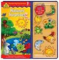 Nature's Surprises Peg puzzle Book - Susan Hood, School Zone Publishing Company, Deborah Melmon