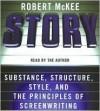 Story CD Publisher: HarperAudio; Abridged edition - Robert Mckee