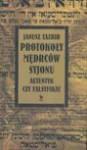 Protokoły mędrców Syjonu : autentyk czy falsyfikat - Janusz Tazbir