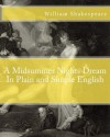 A Midsummer Nights Dream In Plain and Simple English - BookCaps, William Shakespeare