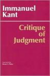 Critique of Judgment - Immanuel Kant, Werner S. Pluhar