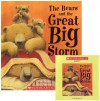 The Bears and the Great Big Storm (Paperback & CD) (The Bears in the Bed) - Paul Bright, Jane Chapman, Fred Berman