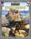 Cities of Fantasy: Highthrone - City of the Clouds - Alejandro Melchor, Jon Hodgson
