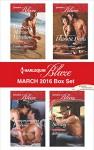 Harlequin Blaze March 2016 Box Set: Her Sexy Marine ValentineCompromising PositionsSweet SeductionCowboy Strong (Uniformly Hot!) - Candace Havens, Kate Hoffmann, Daire St. Denis, Kelli Ireland