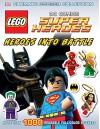 Ultimate Sticker Collection: LEGO DC Comics Super Heroes: Heroes into Battle (Ultimate Sticker Collections) - Julia March