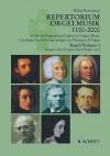Repertorium Orgelmusik: Komponisten, Werke, Editionen, 1150-2000, 57 Länder : eine Auswahl = A bio-bibliographical index of organ music : composers, works, editions, 1150-2000, 57 countries : a selection - Klaus Beckmann