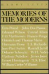 Memories of the Moderns - Harry Levin