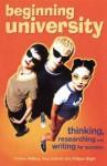 Beginning University - Andrew Wallace, Tony Schirato, Philippa Bright