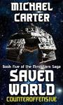 Counteroffensive: A Saven World Adventure (Mind Wars Saga Book 5) - Michael Carter