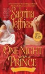 One Night With a Prince - Sabrina Jeffries