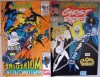Marvel Comics Presents Wolverine and Venom Also Constrictor / Ghost Rider and Cloak & Dagger Vol. 1 No. 119 Flip Comic - Paula Foye, Howard Mackie, Fred Mendez, Mike Thomas, Sam Kieth, Alexander Morrissey