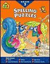Spelling Puzzles Grade 2-Workbook - School Zone Publishing Company, Joan Hoffman, Chris Cook
