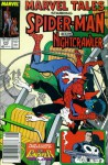 """Marvel Tales #214 : Starring Spider-Man and Nightcrawler in """"And the Nightcrawler Came Prowling, Prowling"""" (Marvel Comics) - Len Wein, Ross Andru"""