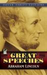 Great Speeches - Abraham Lincoln, Stanley Appelbaum, John Grafton