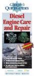 Diesel Engine Care and Repair - Nigel Calder