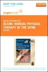 Manual Physical Therapy of the Spine - Pageburst E-Book on Vitalsource (Retail Access Card) - Kenneth A. Olson