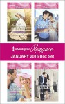 Harlequin Romance January 2016 Box Set: His Princess of ConvenienceHoliday with the MillionaireThe Husband She'd Never MetUnlocking Her Boss's Heart - Rebecca Winters, Scarlet Wilson, Barbara Hannay, Christy McKellen