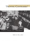"""""""Proving Contraries"""": A Collection of Writings in Honor of Eugene England - Robert A. Rees"""
