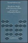 Benedictine Monks at the University of Paris, A.D. 1229-1500: A Biographical Register - Thomas Sullivan