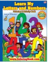 ABC-123 Learn My Letters and Number Giant Super Jumbo Coloring Book (18 x24) - ColoringBook.com, Really Big Coloring Books, Really Big Coloring Books