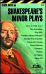 Cliff Shakespeare's Minor Plays - CliffsNotes, William Shakespeare