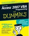 Access 2007 VBA Programming for Dummies - Joseph C. Stockman, Alan Simpson