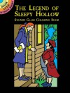 The Legend of Sleepy Hollow Stained Glass Coloring Book - Marty Noble