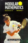 Modular Mathematics: Module E: Mechanics 1 - Linda Bostock, Suzanne Chandler