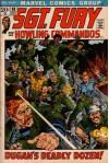 Sgt. Fury and His Howling Commandos: Dugan's Deadly Dozen! (Vol. 1, No. 98, May 1972) - Gary Friedrich