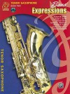 Band Expressions, Book Two Student Edition: Tenor Saxophone, Book & CD - Susan Smith, Michael Story, Robert Smith
