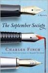 The September Society (Charles Lenox Series #2) - Charles Finch