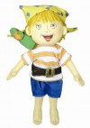 """How I Became a Pirate Doll: 9"""" (Fabric) - Inc. Merrymakers, David Shannon"""