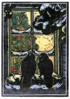 Ravens at the Window Notecards - Rick Allen