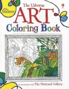 The Usborne Art Coloring Book - Sarah Courtauld, Antonia Miller, Abigail Brown