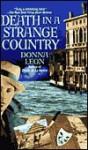 Death in a Strange Country (Audio) - Donna Leon, Anna Fields
