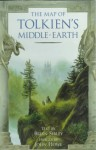 The Map of Tolkien's Middle-earth: Map of Tolkien's Middle-earth - Brian Sibley, John Howe