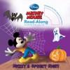 Mickey's Spooky Night Read-Along Storybook and CD - Walt Disney Company, Disney Storybook Art Team