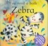 You Need a Bath Zebra - Tony Potter