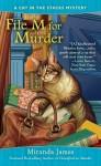 File M for Murder (Cat in the Stacks Mystery) - Miranda James