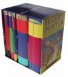 Harry Potter Box Set (Harry Potter, #1-5) - J.K. Rowling