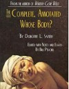 Whose Body? (Lord Peter Wimsey Mysteries, #1) - Dorothy L. Sayers, Bill Peschel