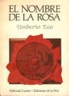 El nombre de la rosa - Umberto Eco, Ricardo Pochtar