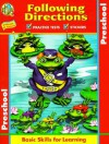 Following Directions: Preschool [With Stickers] - Learning Horizons, Polly Jordan, Terri Chicko, Joe Chicko