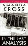 In the Last Analysis - Amanda Cross