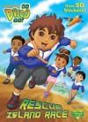 Rescue Island Race (Go, Diego, Go!) - Bob Berry, Golden Books