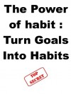 The Power of Habit : Turn Goals Into Habits - Steve Pavlina, Joe Abraham