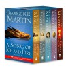 A Game of Thrones: A Song of Ice and Fire, Vol. 1-4: A Game of Thrones / A Clash of Kings / A Storm of Swords: Steel and Snow / A Storm of Swords: Blood and Gold - George R.R. Martin