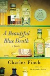 A Beautiful Blue Death (Charles Lenox Mysteries) - Charles Finch
