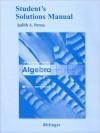 Student Solutions Manual for Introductory Algebra - Marvin L. Bittinger, Marvin Bittinger