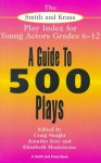 The Smith and Kraus Play Index for Young Actors Grades 6-12 (Young Actor Series) - Craig Slaight, Elizabeth E. Monteleone, Jennifer Esty